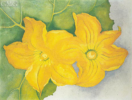 Squash flowers i okeeffe painting reproduction 3887 topofart squash flowers i 1925 okeeffe painting reproduction mightylinksfo