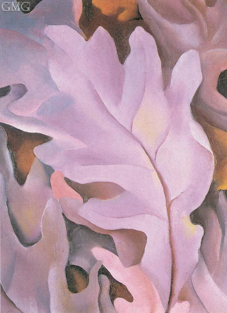O'Keeffe | Purple Leaves, 1922