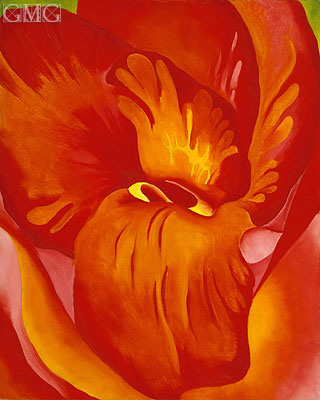 O'Keeffe | Canna Red and Orange, 1926