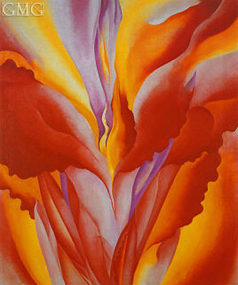 Red Canna, 1926 | O'Keeffe | Painting Reproduction