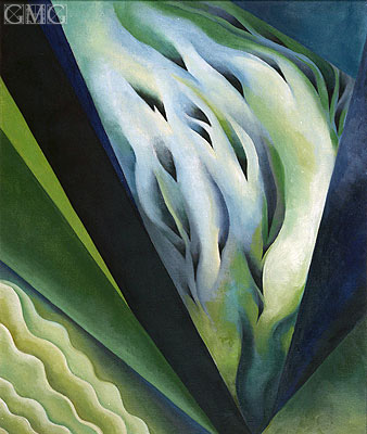 Blue and Green Music, 1919 | O'Keeffe| Painting Reproduction