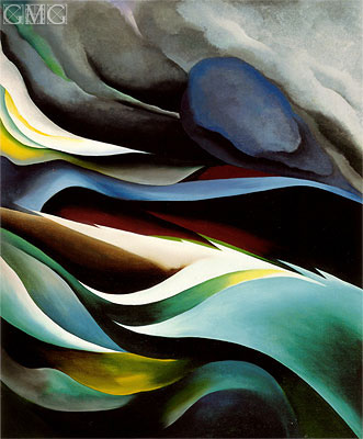 From the Lake I, 1924 | O'Keeffe | Gemälde Reproduktion