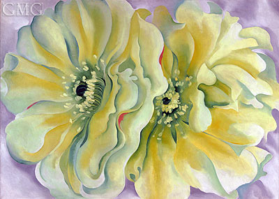 O'Keeffe | Yellow Cactus Flowers, 1929