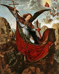 Altar of the Archangel Michael, c.1510 by Gerard David | Painting Reproduction