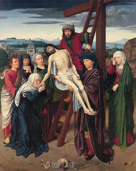 The Deposition, c.1510/15 | Gerard David | Painting Reproduction