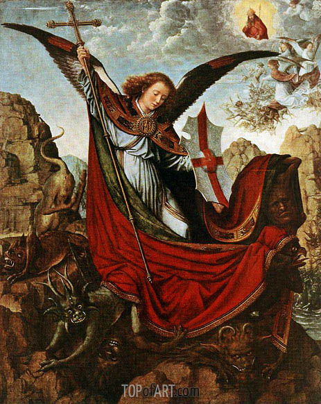 Altar of the Archangel Michael, c.1510 | Gerard David | Painting Reproduction
