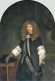 Portrait of Jacob de Graeff, c.1670/81 by Gerard ter Borch | Painting Reproduction