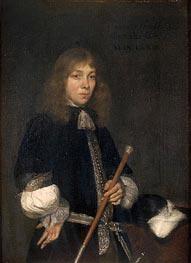 Portrait of Cornelis de Graeff, 1673 by Gerard ter Borch | Painting Reproduction