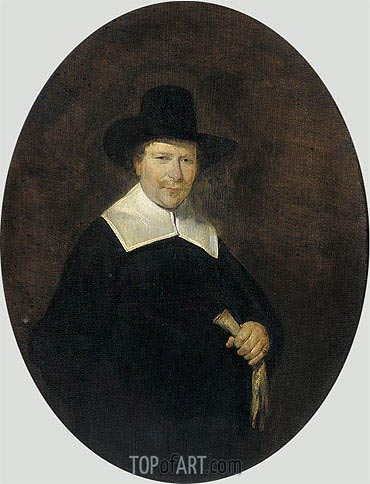 Gerard ter Borch | Portrait of Gerard Abrahamsz van der Schalcke, 1644