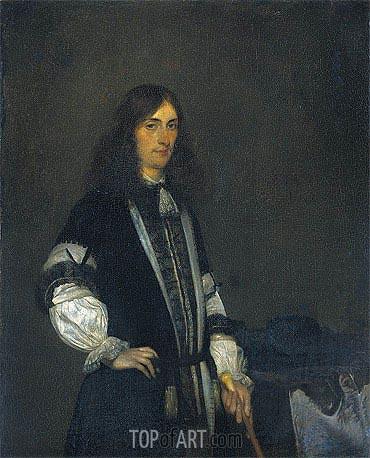 Gerard ter Borch | Portrait of Francois de Vicq, 1670
