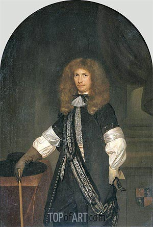 Portrait of Jacob de Graeff, c.1670/81 | Gerard ter Borch | Painting Reproduction