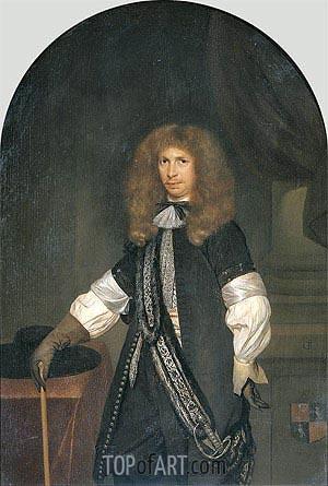 Gerard ter Borch | Portrait of Jacob de Graeff, c.1670/81