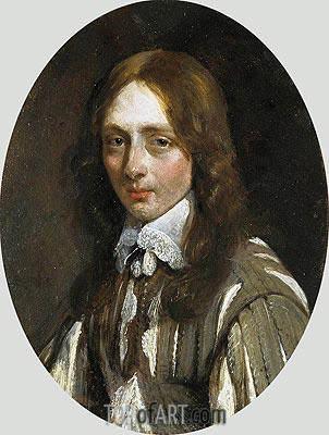Gerard ter Borch | Portrait of Caspar van Kinschot, c.1646/47