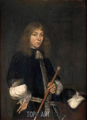 Portrait of Cornelis de Graeff, 1673 | Gerard ter Borch | Painting Reproduction