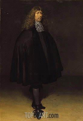 Gerard ter Borch | Self Portrait, c.1668