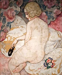 The Mask, 1922 by Gerda Wegener | Painting Reproduction