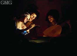 Concert, undated by Gerrit van Honthorst | Painting Reproduction