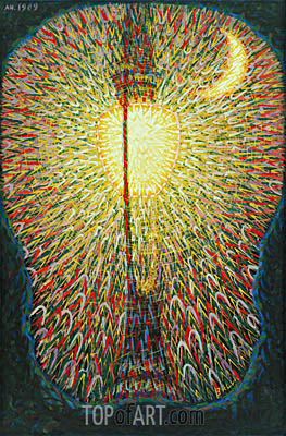 Street Light, 1909 | Giacomo Balla| Painting Reproduction