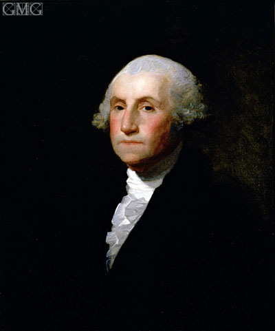 George Washington, 1796 | Gilbert Stuart | Gemälde Reproduktion