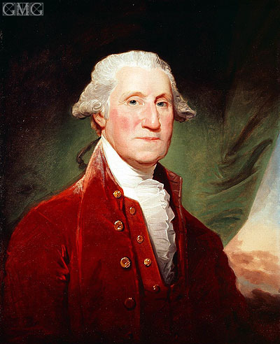 George Washington, 1796 | Gilbert Stuart | Painting Reproduction