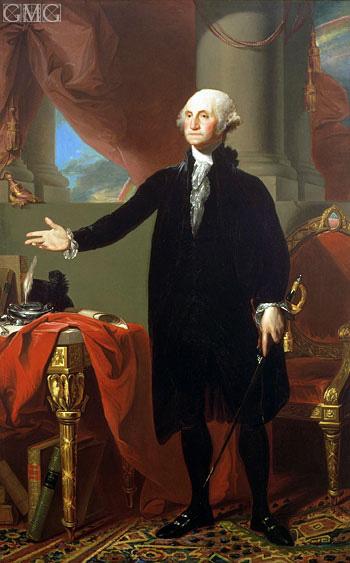 Gilbert Stuart | Portrait of George Washington, 1796