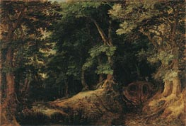 Forest Landscape, 1598 by Gillis van Coninxloo | Painting Reproduction