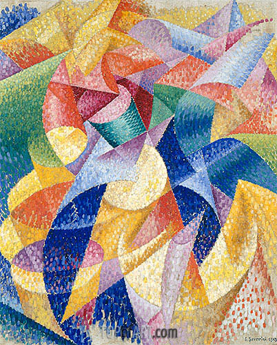 Sea = Dancer, 1913 | Gino Severini | Painting Reproduction