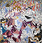 Dynamic Hieroglyphic of the Bal Tabarin, 1912 | Gino Severini (inspired by)