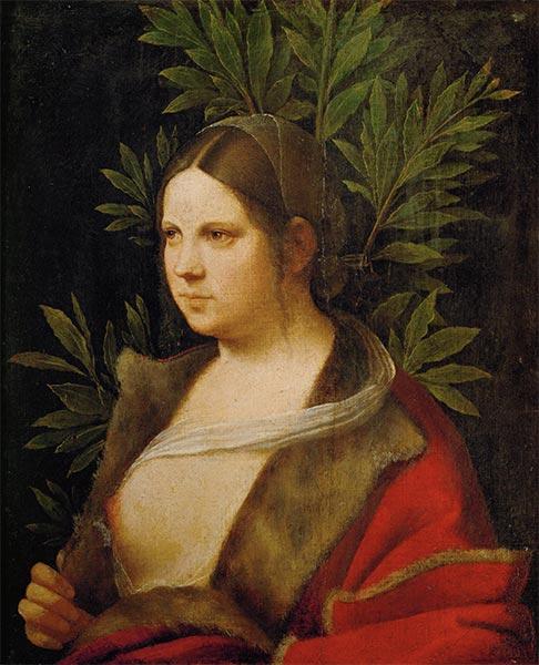 Giorgione | Laura, 1506