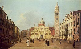 Campo Santa Maria Formosa, 1730 by Canaletto | Painting Reproduction