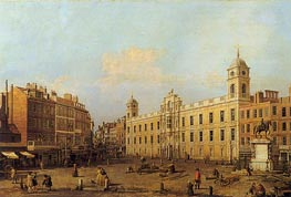 Northumberland House | Canaletto | Painting Reproduction