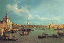 Venice: The Bacino from the Giudecca, c.1740 by Canaletto | Painting Reproduction