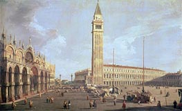 Towards San Marco | Canaletto | Gemälde Reproduktion
