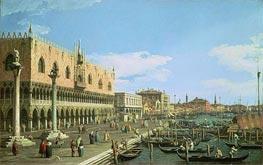 Venice: the Riva degli Schiavoni | Canaletto | veraltet