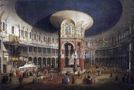 Ranelagh Gardens, the Interior of the Rotunda | Canaletto | Gemälde Reproduktion