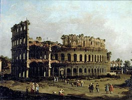 The Colosseum | Canaletto | Gemälde Reproduktion