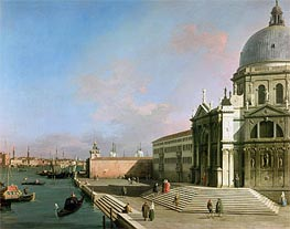 The Grand Canal, undated von Canaletto | Gemälde-Reproduktion