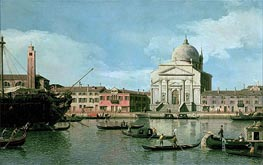 Il Redentore | Canaletto | Painting Reproduction