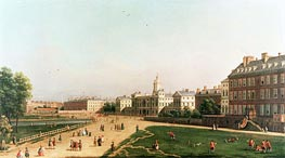 New Horse Guards from St. James's Park, undated von Canaletto | Gemälde-Reproduktion