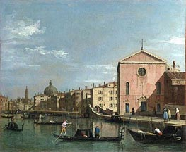 View of the Grand Canal, c.1738 von Canaletto | Gemälde-Reproduktion