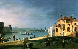 View of Venice, undated von Canaletto | Gemälde-Reproduktion