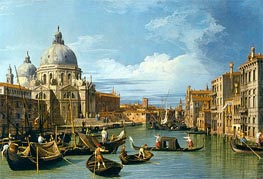 The Entrance to the Grand Canal, Venice, c.1730 von Canaletto | Gemälde-Reproduktion