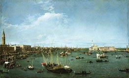 Bacino di San Marco, Venice, c.1738 by Canaletto | Painting Reproduction