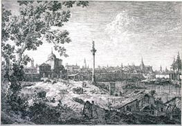 Imaginary View of Padua, 1742 von Canaletto | Gemälde-Reproduktion