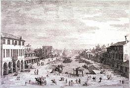 Mestre | Canaletto | Gemälde Reproduktion