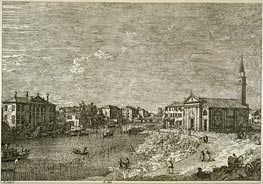 Al Dolo | Canaletto | Painting Reproduction