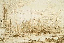 The Bacino di San Marco on Ascension Day | Canaletto | Painting Reproduction