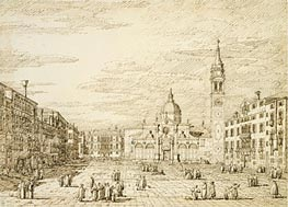 Venice: Campo Santa Maria Formosa, c.1735/40 by Canaletto   Painting Reproduction