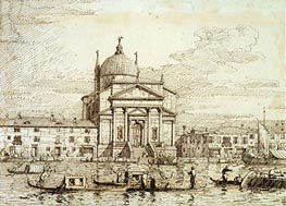 The Redentore, c.1735/40 by Canaletto | Painting Reproduction