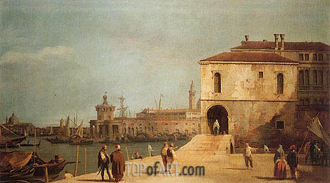 Fonteghetto della Farina, c.1727/29 | Canaletto| Painting Reproduction